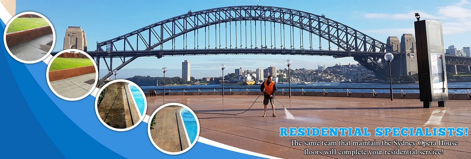 Residential Pressure Cleaning Sydney